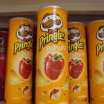 Bratislava, Paprika Pringles in Store