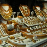 There were a lot of amber shops